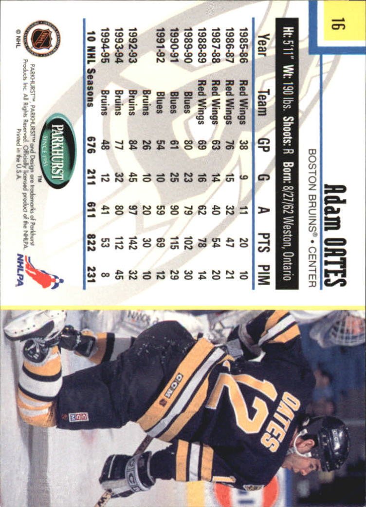1995-96-Parkhurst-International-Hockey-Base-Singles-1-250-Pick-Your-Cards thumbnail 29