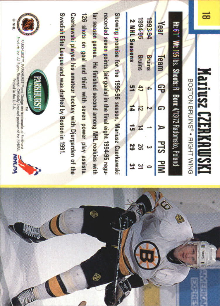 1995-96-Parkhurst-International-Hockey-Base-Singles-1-250-Pick-Your-Cards thumbnail 33