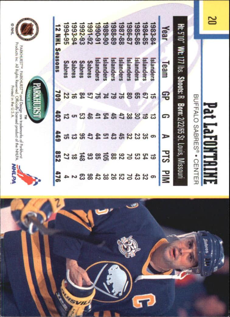 1995-96-Parkhurst-International-Hockey-Base-Singles-1-250-Pick-Your-Cards thumbnail 35