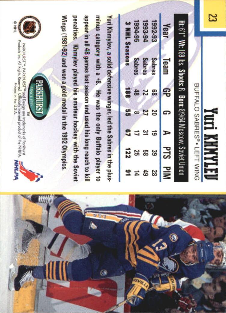 1995-96-Parkhurst-International-Hockey-Base-Singles-1-250-Pick-Your-Cards thumbnail 41