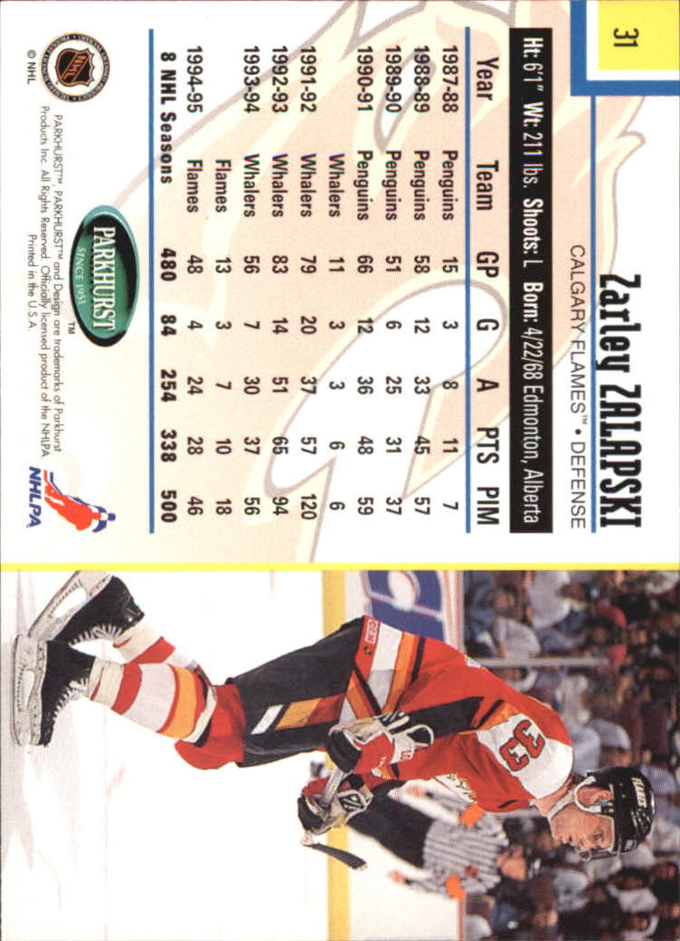1995-96-Parkhurst-International-Hockey-Base-Singles-1-250-Pick-Your-Cards thumbnail 57