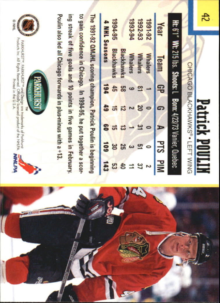 1995-96-Parkhurst-International-Hockey-Base-Singles-1-250-Pick-Your-Cards thumbnail 75