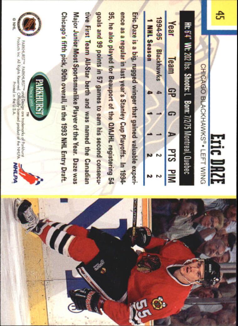 1995-96-Parkhurst-International-Hockey-Base-Singles-1-250-Pick-Your-Cards thumbnail 81