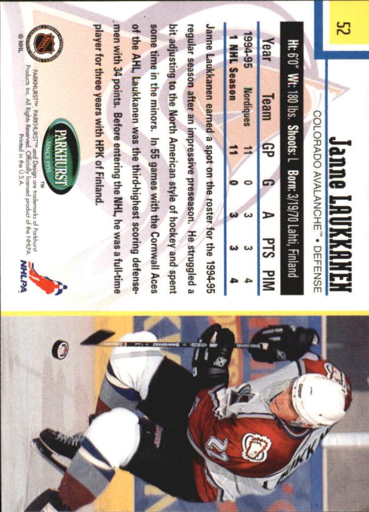 1995-96-Parkhurst-International-Hockey-Base-Singles-1-250-Pick-Your-Cards thumbnail 91