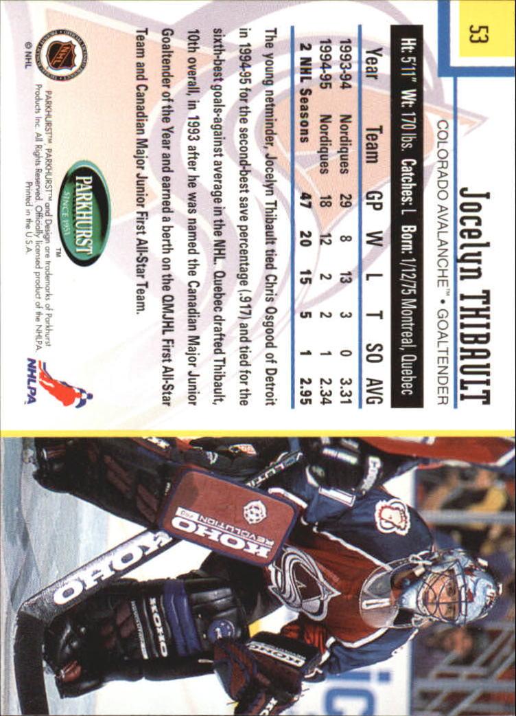 1995-96-Parkhurst-International-Hockey-Base-Singles-1-250-Pick-Your-Cards thumbnail 93