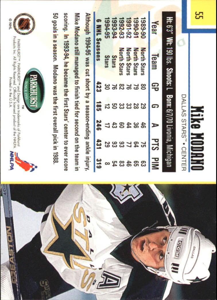 1995-96-Parkhurst-International-Hockey-Base-Singles-1-250-Pick-Your-Cards thumbnail 97