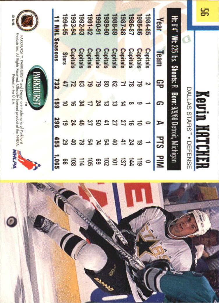 1995-96-Parkhurst-International-Hockey-Base-Singles-1-250-Pick-Your-Cards thumbnail 99