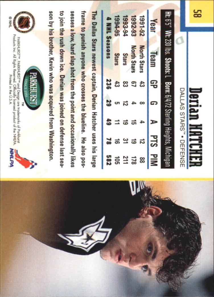 1995-96-Parkhurst-International-Hockey-Base-Singles-1-250-Pick-Your-Cards thumbnail 103