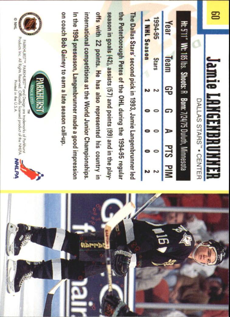 1995-96-Parkhurst-International-Hockey-Base-Singles-1-250-Pick-Your-Cards thumbnail 107