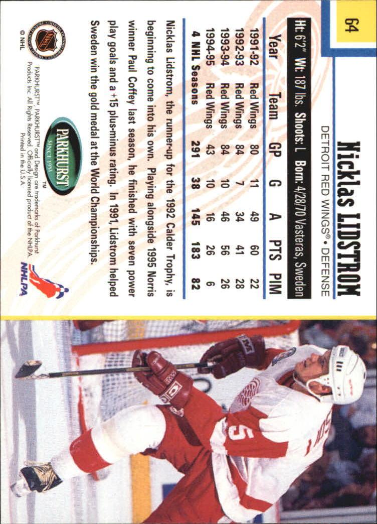 1995-96-Parkhurst-International-Hockey-Base-Singles-1-250-Pick-Your-Cards thumbnail 113