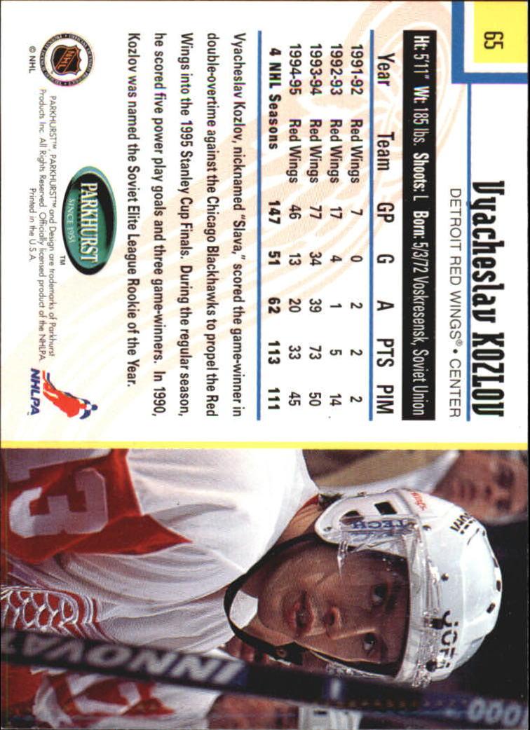 1995-96-Parkhurst-International-Hockey-Base-Singles-1-250-Pick-Your-Cards thumbnail 115