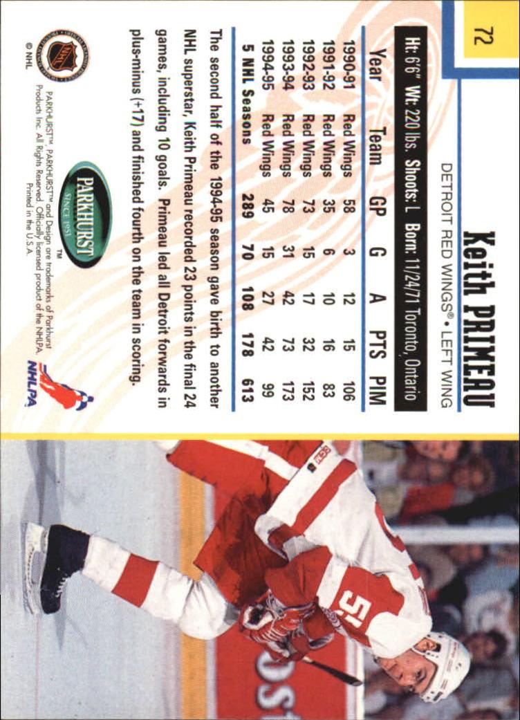 1995-96-Parkhurst-International-Hockey-Base-Singles-1-250-Pick-Your-Cards thumbnail 129