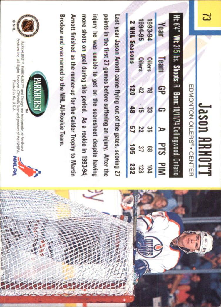 1995-96-Parkhurst-International-Hockey-Base-Singles-1-250-Pick-Your-Cards thumbnail 131