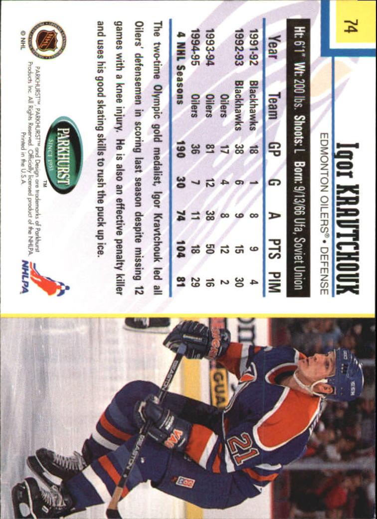 1995-96-Parkhurst-International-Hockey-Base-Singles-1-250-Pick-Your-Cards thumbnail 133