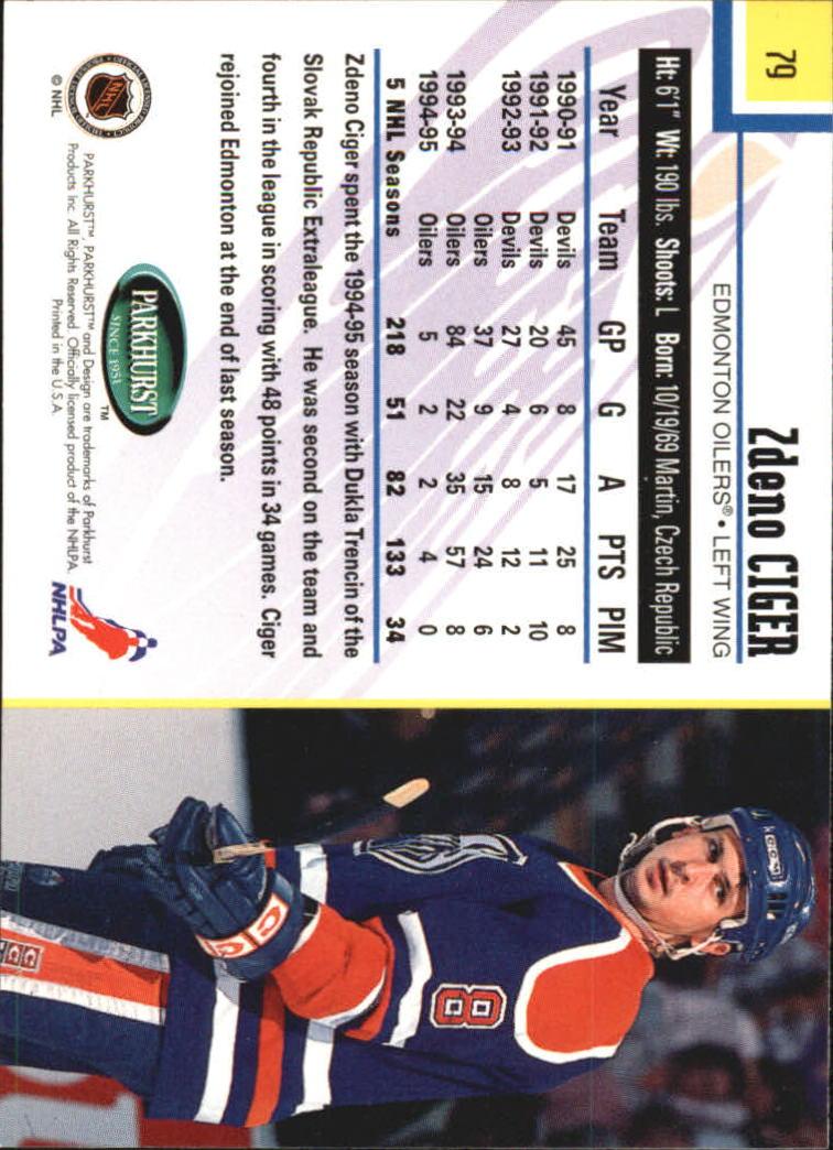 1995-96-Parkhurst-International-Hockey-Base-Singles-1-250-Pick-Your-Cards thumbnail 143