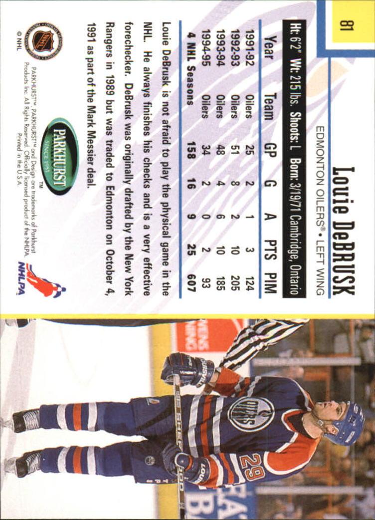 1995-96-Parkhurst-International-Hockey-Base-Singles-1-250-Pick-Your-Cards thumbnail 147