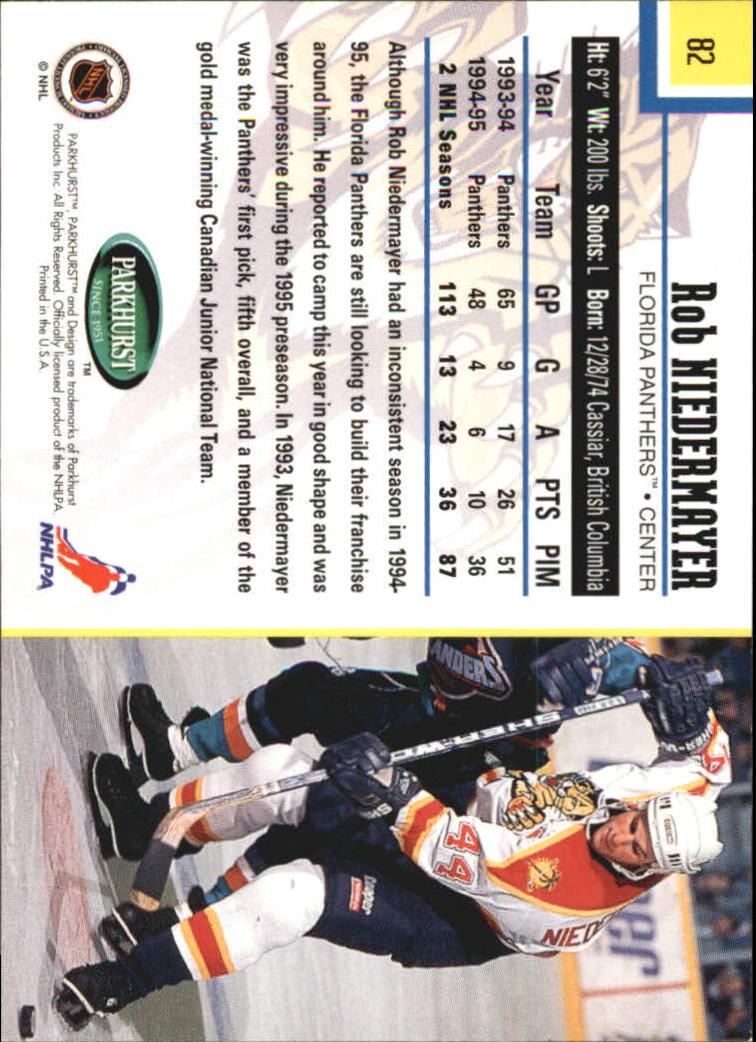 1995-96-Parkhurst-International-Hockey-Base-Singles-1-250-Pick-Your-Cards thumbnail 149