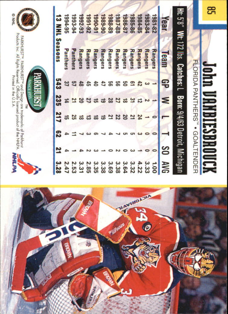 1995-96-Parkhurst-International-Hockey-Base-Singles-1-250-Pick-Your-Cards thumbnail 155