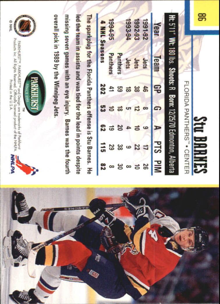 1995-96-Parkhurst-International-Hockey-Base-Singles-1-250-Pick-Your-Cards thumbnail 157
