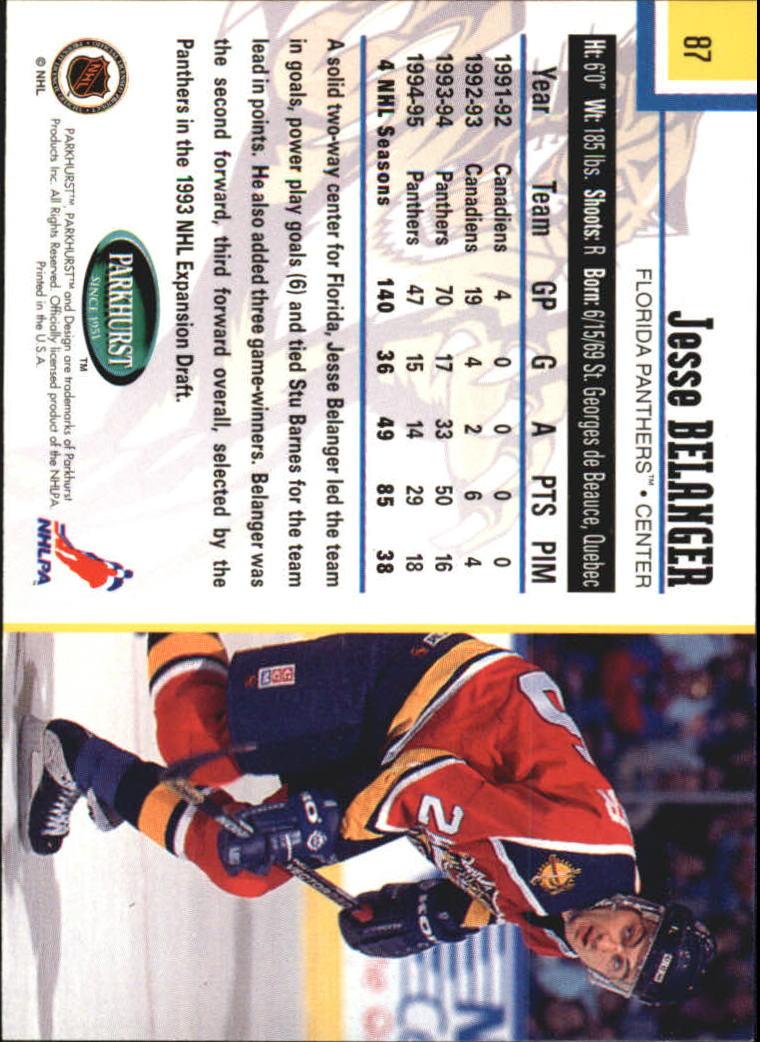 1995-96-Parkhurst-International-Hockey-Base-Singles-1-250-Pick-Your-Cards thumbnail 159