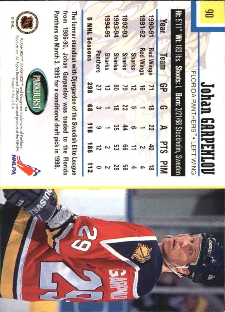 1995-96-Parkhurst-International-Hockey-Base-Singles-1-250-Pick-Your-Cards thumbnail 165