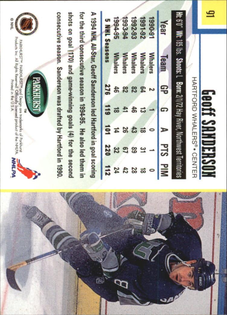 1995-96-Parkhurst-International-Hockey-Base-Singles-1-250-Pick-Your-Cards thumbnail 167