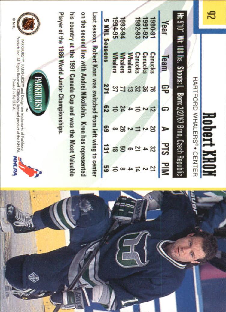 1995-96-Parkhurst-International-Hockey-Base-Singles-1-250-Pick-Your-Cards thumbnail 169