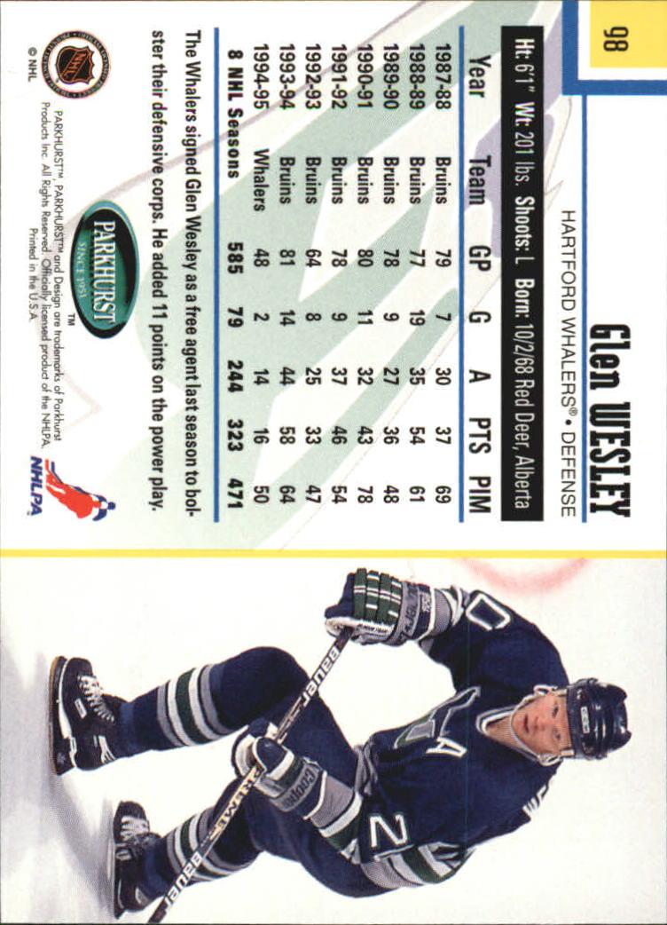 1995-96-Parkhurst-International-Hockey-Base-Singles-1-250-Pick-Your-Cards thumbnail 181