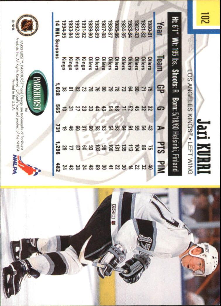 1995-96-Parkhurst-International-Hockey-Base-Singles-1-250-Pick-Your-Cards thumbnail 189