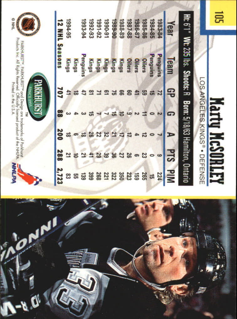 1995-96-Parkhurst-International-Hockey-Base-Singles-1-250-Pick-Your-Cards thumbnail 195
