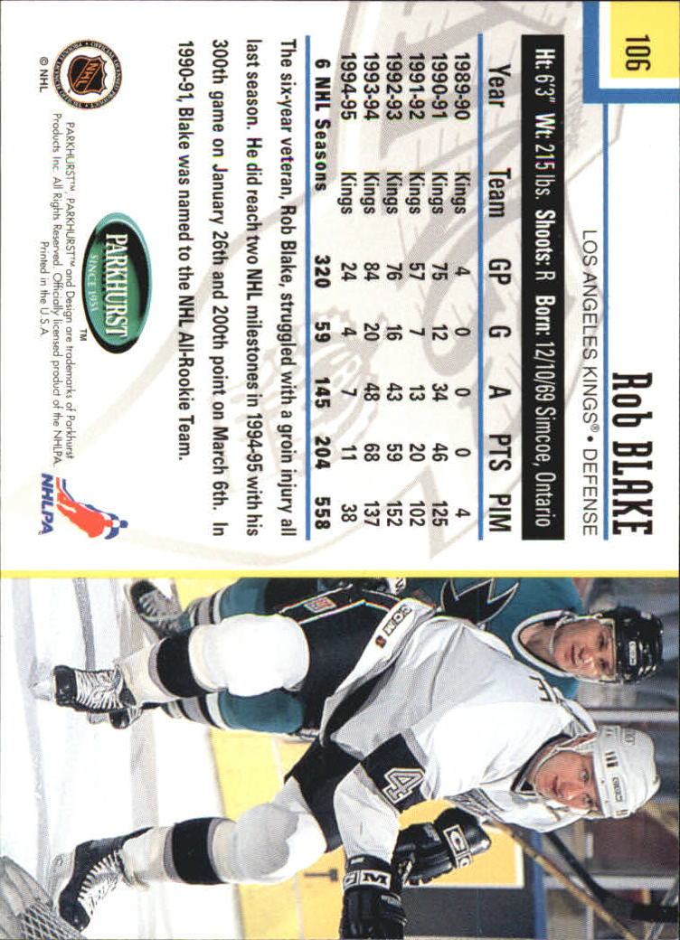 1995-96-Parkhurst-International-Hockey-Base-Singles-1-250-Pick-Your-Cards thumbnail 197