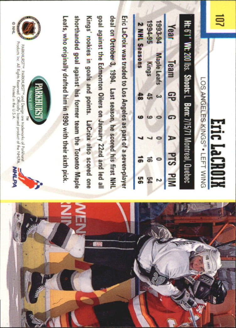 1995-96-Parkhurst-International-Hockey-Base-Singles-1-250-Pick-Your-Cards thumbnail 199