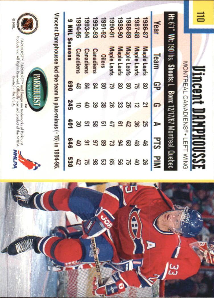 1995-96-Parkhurst-International-Hockey-Base-Singles-1-250-Pick-Your-Cards thumbnail 205