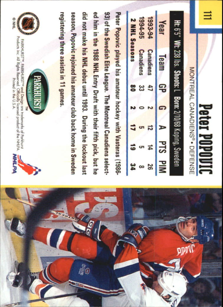 1995-96-Parkhurst-International-Hockey-Base-Singles-1-250-Pick-Your-Cards thumbnail 207