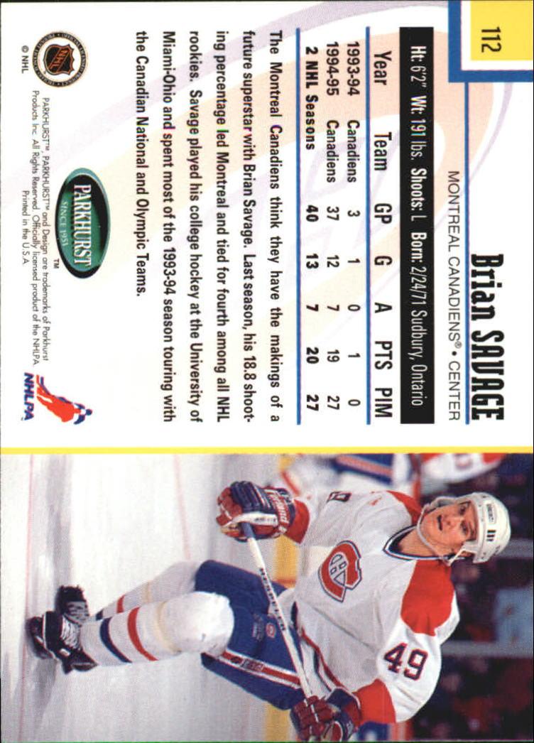 1995-96-Parkhurst-International-Hockey-Base-Singles-1-250-Pick-Your-Cards thumbnail 209