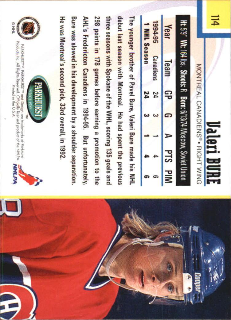1995-96-Parkhurst-International-Hockey-Base-Singles-1-250-Pick-Your-Cards thumbnail 211