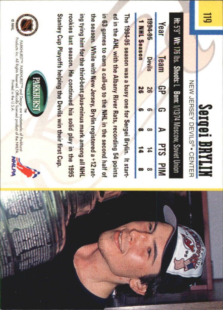 1995-96-Parkhurst-International-Hockey-Base-Singles-1-250-Pick-Your-Cards thumbnail 221
