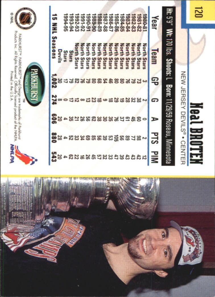 1995-96-Parkhurst-International-Hockey-Base-Singles-1-250-Pick-Your-Cards thumbnail 223