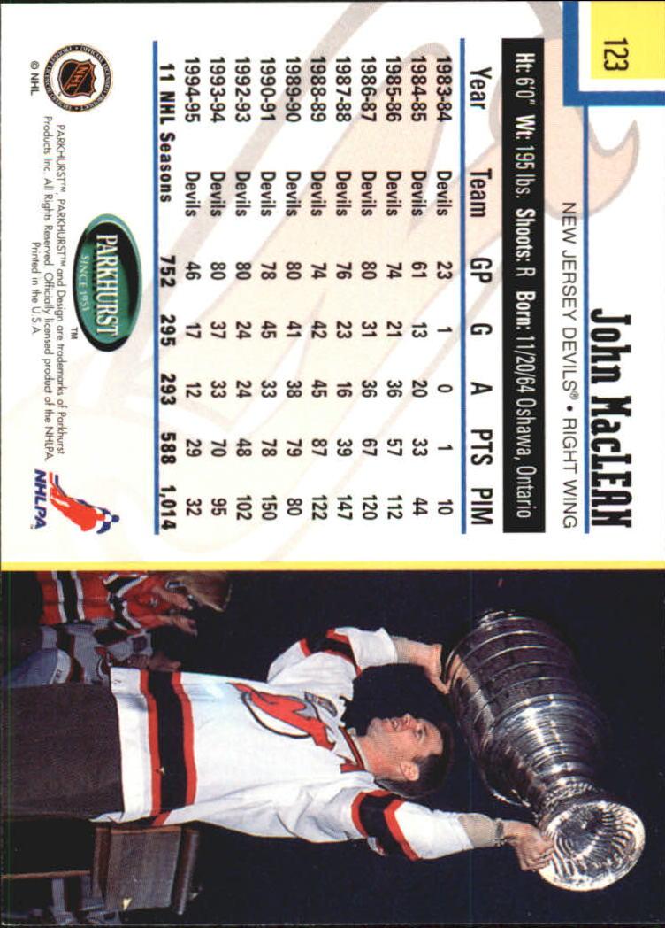 1995-96-Parkhurst-International-Hockey-Base-Singles-1-250-Pick-Your-Cards thumbnail 229