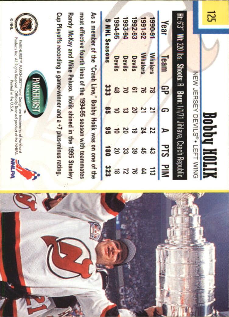 1995-96-Parkhurst-International-Hockey-Base-Singles-1-250-Pick-Your-Cards thumbnail 233
