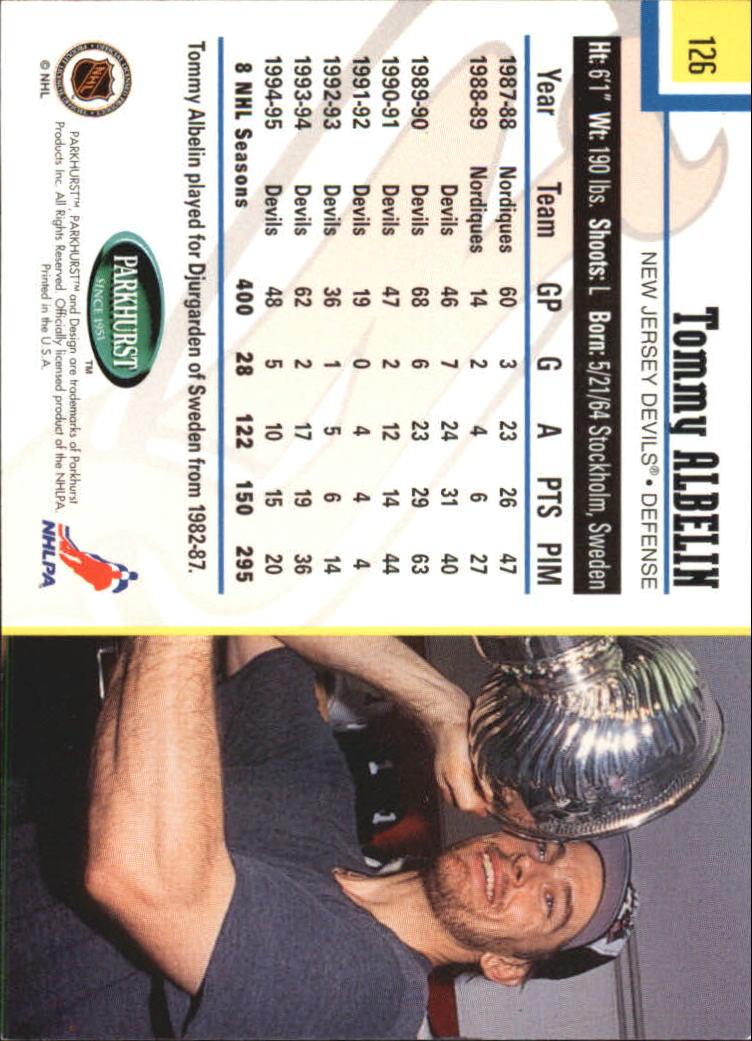 1995-96-Parkhurst-International-Hockey-Base-Singles-1-250-Pick-Your-Cards thumbnail 235
