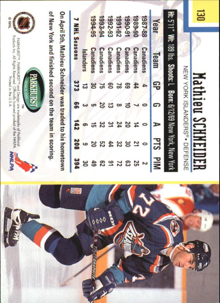 1995-96-Parkhurst-International-Hockey-Base-Singles-1-250-Pick-Your-Cards thumbnail 243