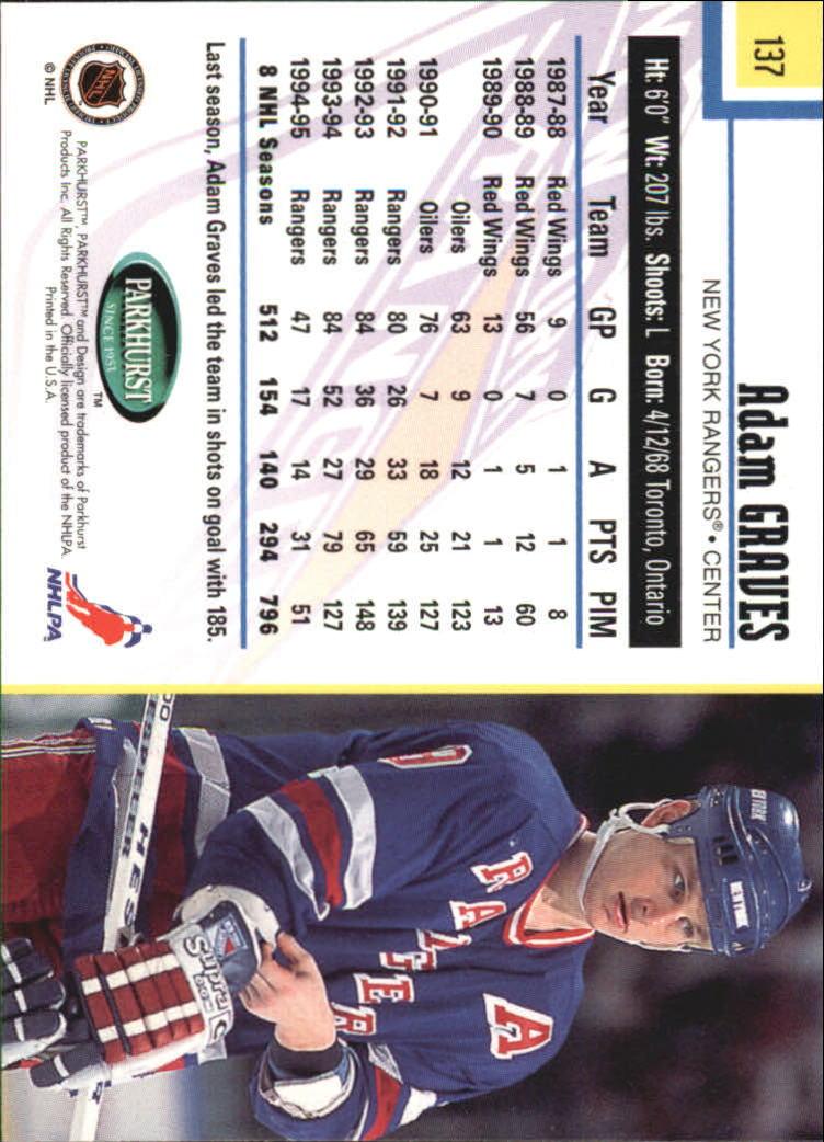 1995-96-Parkhurst-International-Hockey-Base-Singles-1-250-Pick-Your-Cards thumbnail 257