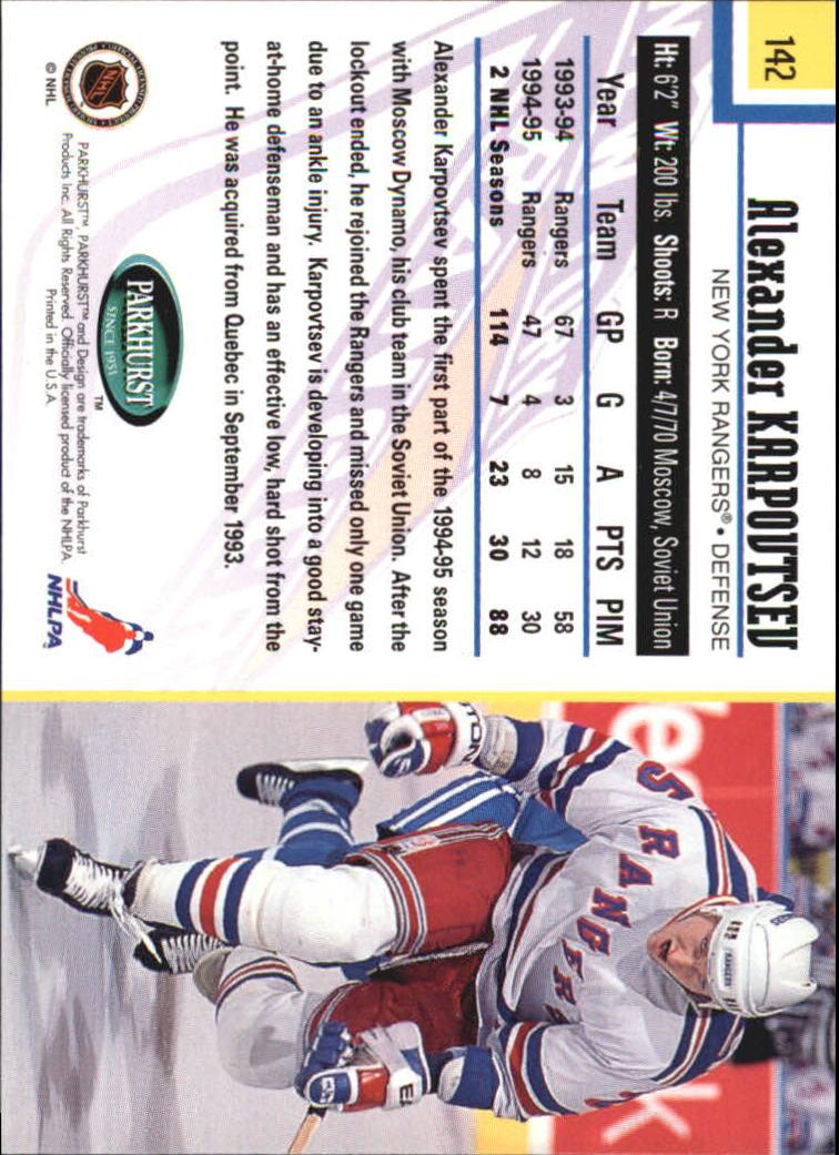 1995-96-Parkhurst-International-Hockey-Base-Singles-1-250-Pick-Your-Cards thumbnail 267