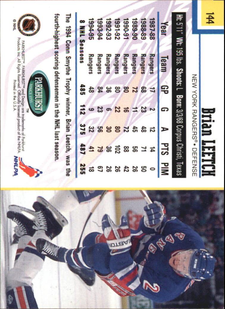 1995-96-Parkhurst-International-Hockey-Base-Singles-1-250-Pick-Your-Cards thumbnail 271