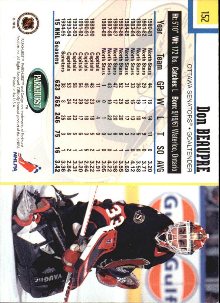 1995-96-Parkhurst-International-Hockey-Base-Singles-1-250-Pick-Your-Cards thumbnail 287