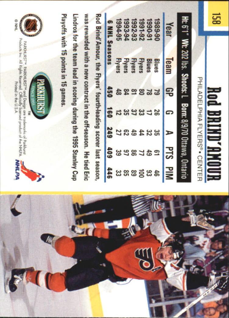 1995-96-Parkhurst-International-Hockey-Base-Singles-1-250-Pick-Your-Cards thumbnail 297