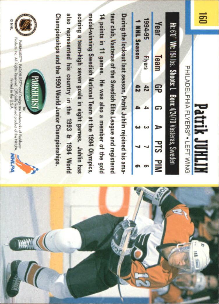 1995-96-Parkhurst-International-Hockey-Base-Singles-1-250-Pick-Your-Cards thumbnail 301