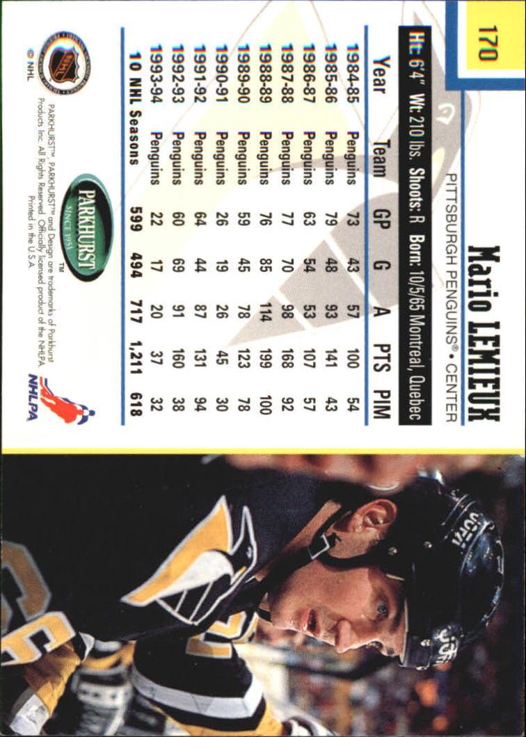 1995-96-Parkhurst-International-Hockey-Base-Singles-1-250-Pick-Your-Cards thumbnail 319