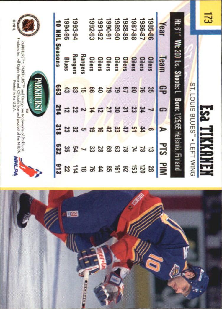 1995-96-Parkhurst-International-Hockey-Base-Singles-1-250-Pick-Your-Cards thumbnail 325